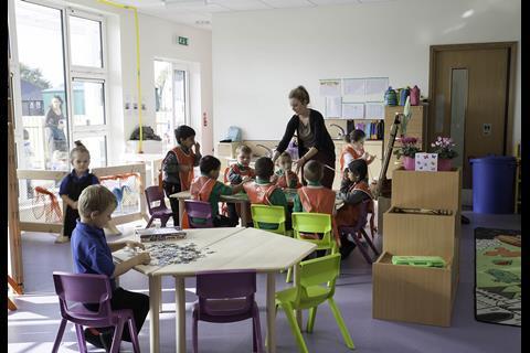 Portakabin school
